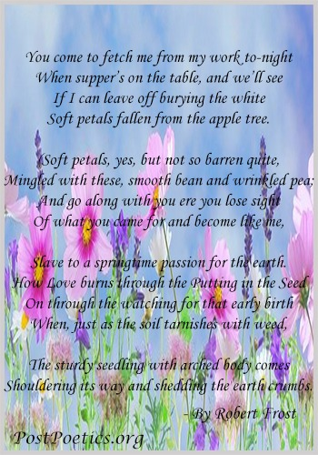 a poem of flower tree