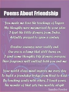true friendship poems